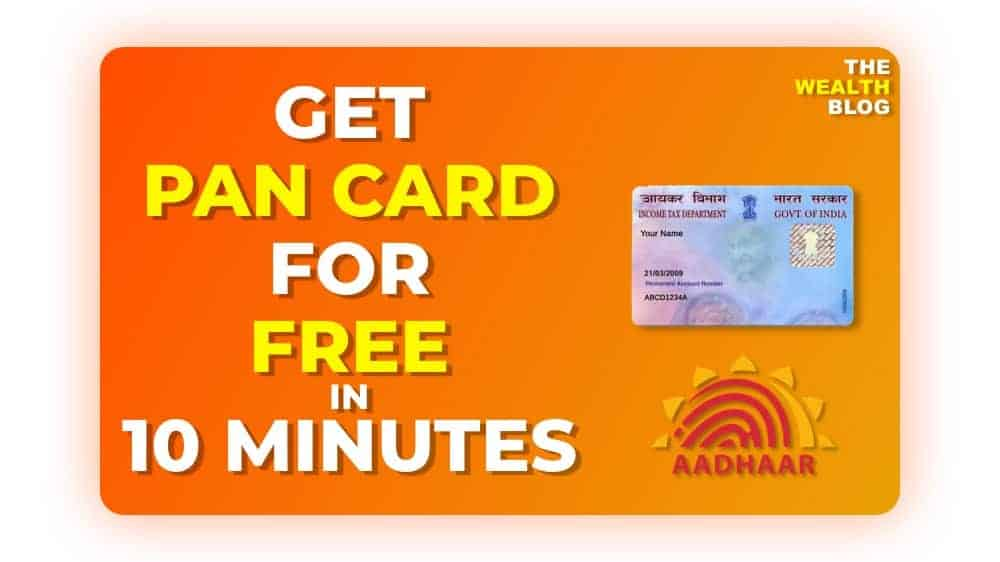 How to Get a Free PAN Card From Income Tax India