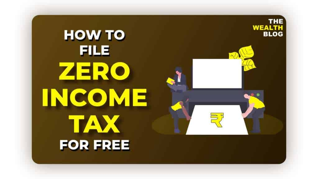 How To File Zero Income Tax