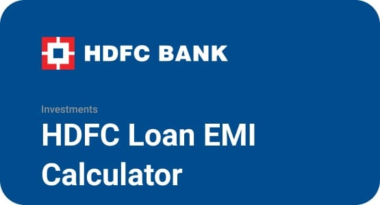HDFC Loan EMI Calculator Thumbnail