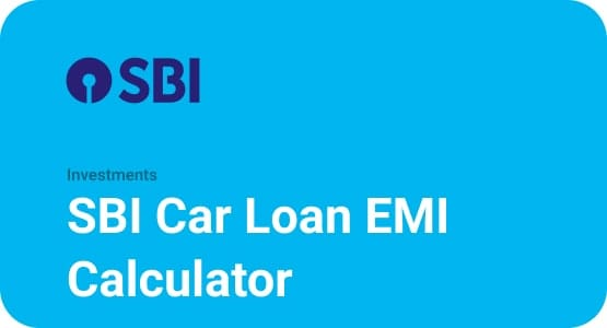 SBI Car Loan EMI Calculator Thumbnail
