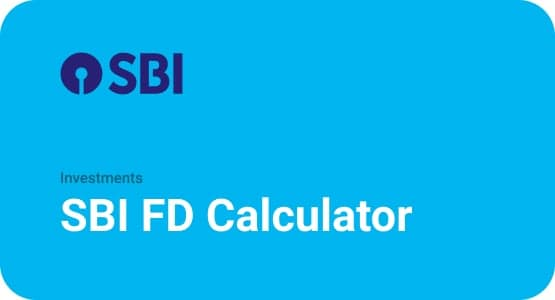 SBI FD Calculator Thumbnail