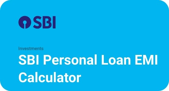 SBI Personal Loan EMI Calculator Thumbnail