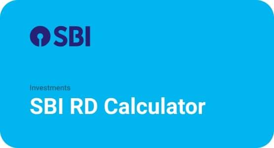 SBI RD Calculator Thumbnail